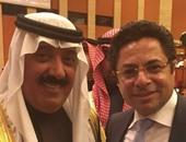 مشاركة مصرية فى مهرجان الجنادرية.. والأمير متعب يشكر خالد أبوبكر