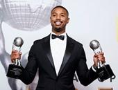 """بالصور.. مايكل جوردون يقتنص جائزة نجم العالم وأفضل ممثل فى """"NAACP"""" الـ47"""