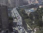 بالفيديو.. النشرة المرورية.. كثافات بشوارع وميادين القاهرة والجيزة