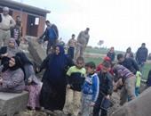 أهالى بقرية بالجمالية يعترضون حملة لإزالة التعديات على الأراضى الزراعية بالدقهلية