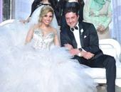 بالفيديو والصور..صافيناز وساموزين وأوكا وأورتيجا يشعلون حفل زفاف الرائد محمد البطران