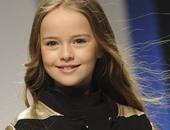 """أصغر موديل فى العالم ..حكاية """"كريستينا"""" أحدث وجوه """"فوج"""" فى سن 10 سنوات"""