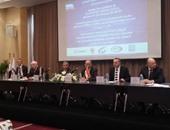 بالصور.. بدء مؤتمر توقيع اتفاقية تطوير الملاحة الجوية بالمطار