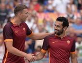 بالأرقام.. محمد صلاح ودجيكو أقوى ثنائى هجومى فى الدوري الإيطالي
