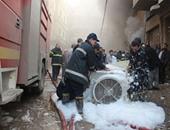 الحماية المدنية تسيطر على حريق بمخزن أقمشة بالدقهلية