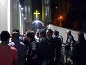 الكنيسة تقيم الصلوات والتراتيل على أرواح شهداء الوراق