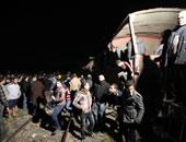 """""""صحة المنوفية"""": إصابة سائق القطار ومندوب شرطة وعامل فى """"حادث المناشى"""""""