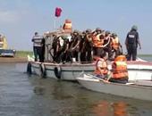 خفر السواحل التونسى ينقذ 18 مهاجرا غير شرعى من الغرق بعد تعطل مركبهم