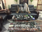 القبض على 10 متهمين بحوزتهم أسلحة بيضاء فى الإسماعيلية