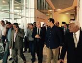 بالصور.. مستشار الرئيس للأمن يتفقد قاعات المؤتمر الاقتصادى بشرم الشيخ