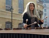 الصماء إيفلين جلينى تحصل على جائزة بولار الدولية فى الموسيقى
