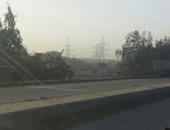 إنتهاء إصلاح 4 فواصل أعلى كوبرى أبيس بالإسكندرية