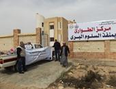 سفر وعودة 1573 مصريًا وليبيًا و391 شاحنة عبر منفذ السلوم خلال 24 ساعة
