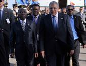 محلب يستقبل رؤساء قبرص وغينيا وملك البحرين ورئيس البرلمان الليبى قبل المؤتمر الاقتصادى