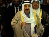 """أمير الكويت يبحث مع وزير الخارجية العمانى وأمين """"التعاون الخليجى"""" القضايا المشتركة"""