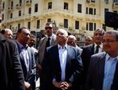 """محافظ القاهرة يتفقد أعمال بناء كوبرى """"مؤسسة الزكاة"""" فى المرج"""