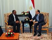 رئيس وزراء إثيوبيا يقيم عشاء رسميا للسيسى فى القصر الجمهورى