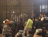 تأجيل محاكمة المتهمين بأحداث سجن بورسعيد للغد لاستكمال سماع الشهود