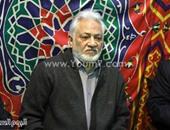 سامح الصريطى وعباس أبو الحسن وسمير فريد فى عزاء المنتج عصام المغربى