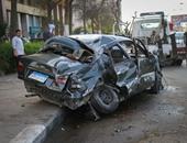 صحافة المواطن.. مصرع شخص فى حادث سيارة على طريق مصر إسماعيلية الصحراوى