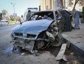مصرع عضوين بهيئة الطاقة الذرية بحادث تصادم ملاكى بسيارة شرطة بطريق إسكندرية