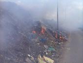 الحماية المدنية تسيطر على حريق مخلفات بجوار سجن قنا العمومى