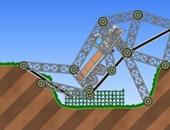 بالصور.. استخدم ذكاءك لبناء الطرق والكبارى فى لعبة Railway bridge