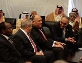 وزراء الخارجية العرب: نتابع بقلق قضية اختطاف عدد من القطريين فى العراق
