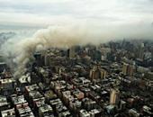 إخلاء اكثر من 29 ألف شخص من منازلهم بعد حريق مصنع كيماويات فى الصين