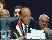 الرئيس اليمنى يهنئ السيسى بالفوز فى الانتخابات الرئاسية