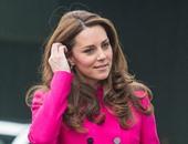 بالصور.. كيت ميدلتون تتألق بمعطف فوشيه فى الشهر التاسع للحمل