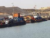 رفع 184 مليونا و755 ألف متر رمال مشبعة بالمياه من قناة السويس الجديدة