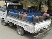 حبس صاحب مستودع يبيع أسطوانات بوتاجاز مدعمة بالسوق السوداء فى باب الشعرية