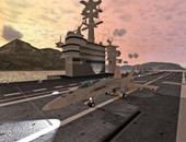 لعبة F18 Carrier Landing II تتيح لك محاكاة قيادة الطائرات الحربية