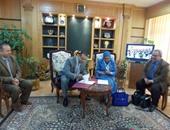 المركز الثقافى الفرنسى يوقع برتوكول تعاون مع جامعة المنصورة