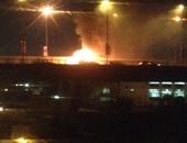4 أشخاص يضرمون النار فى سيارة لشركة أوبر فى نيروبى