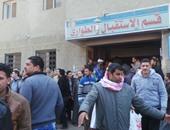 إصابة 14 شخصا فى حادث تصادم بطريق بلبيس- العاشر من رمضان