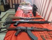 ضبط  8 أشخاص وقطع أسلحة نارية فى مشاجرة بين عائلتين بالمنصورة