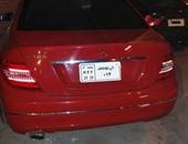 ضبط سيارة ملاكى ببورسعيد تحمل أرقام استيكر لاصق بالمخالفة لقانون المرور
