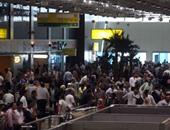 أمن المطار يحبط 3 محاولات لتهريب 30 ألف دولار و40 ألف ريال و35 الف درهم
