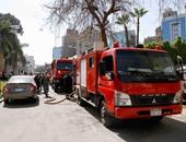 السيطرة على حريق شب فى كافيه بمنطقة أكتوبر بدون إصابات