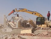 """بالصور.. أمن القاهرة ينجح فى إزالة التعديات على أراضى الدولة بـ""""شق التعبان"""""""
