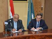 """""""البترول""""توقع مذكرة تفاهم مع العراق لتكرير كميات من خام البصرة فى مصر شهريا"""