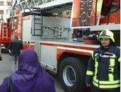 الحماية المدنية بالقاهرة تسيطر على حريق محل ملابس فى العتبة دون إصابات