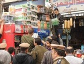 تحرير 11 محضر مخالفات خلال حملة على المجمعات الاستهلاكية فى العاشر