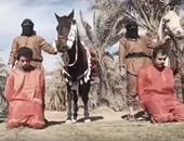 """بالصور.. """"داعش"""" يذبح 3 عراقيين بتهمة محاولة الانضمام للقوات العراقية"""