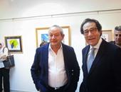 فاروق حسنى عن معرضه بجاليرى جرانت: هذه اللوحات حملت بذرة تجربتى الجديدة