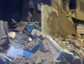 انهيار منزل مكون من طابقين دون وقوع إصابات فى قوص بقنا