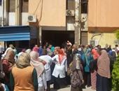 تشييع 5 جثامين من أسرة واحدة بالمنوفية ضحايا حادث مصعد مستشفى بنها
