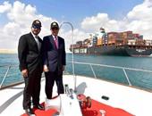 مميش يستقبل وزير الشئون البحرية البنمى
